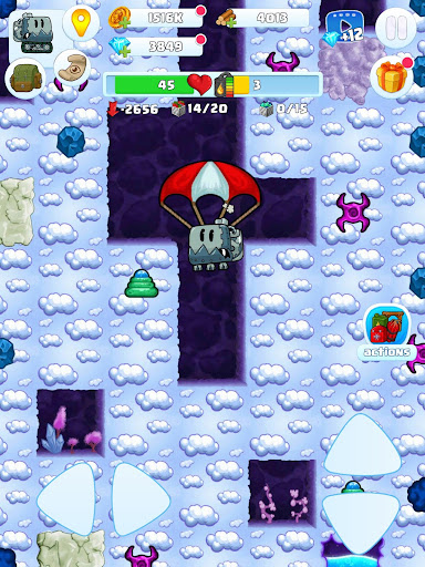 Digger 2: dig and find minerals android2mod screenshots 9