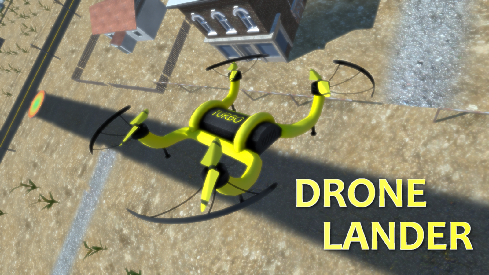 Drone Lander Simulator 3D - Free Flight Game- screenshot