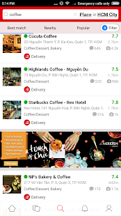 Foody - Find Reserve Delivery- screenshot thumbnail