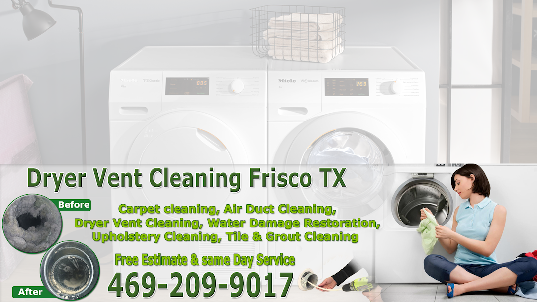 Dryer Vent Cleaning Frisco Tx Unclogged Dryer Vents