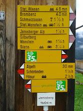 Photo: Wegweiser in Jenisberg