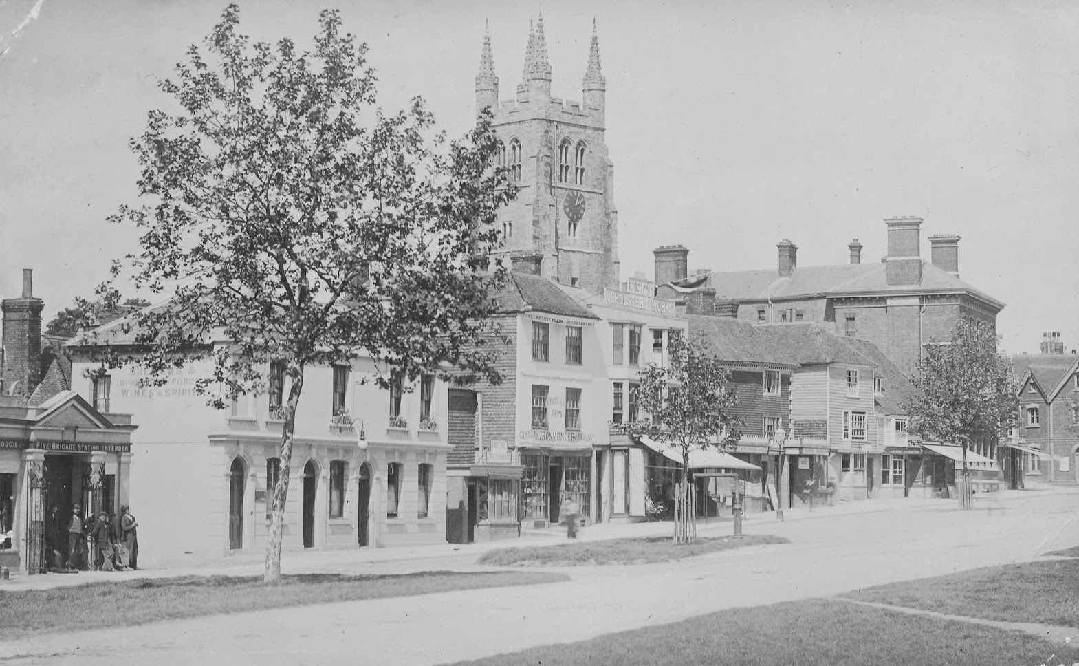 Tenterden Archive photos Church Road to Station Road Tenterden High Street