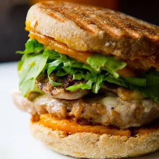 Jack-o-Pumpkin Breakfast Sandwich.