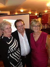Photo: Special guest Marty Morrissey with Margaret Reynolds & Fionnuala Howard, Dinner Dance 2013