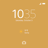 XPERIA™ Theme: Gold