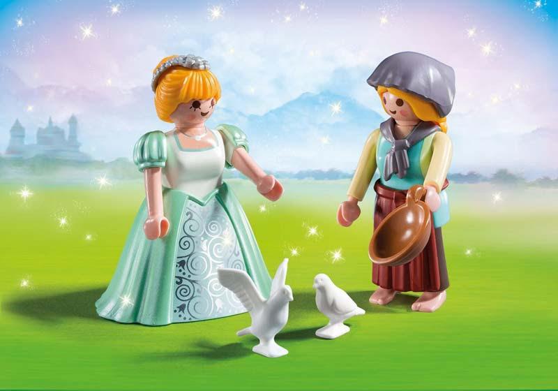 Contenido de Playmobil® 6843 Duo Pack Princesa y Granjera