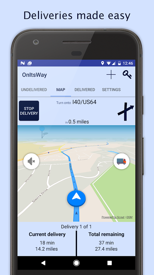 OnItsWay: Deliveries made easy- screenshot