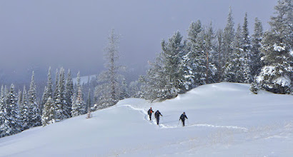 Photo: Hike to Granite Butte Lookout from Stemple Pass on january 30, 2015