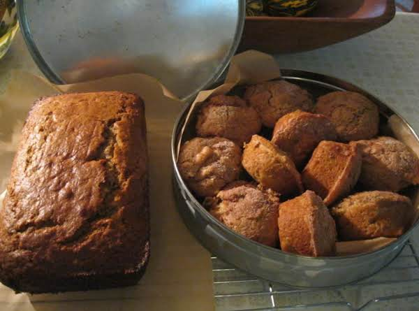 Banana Nut Bread  And Apple Muffins From A.j. Whole Wheat Pancake Mix Recipe