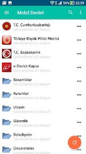 Mobil Devlet - náhled