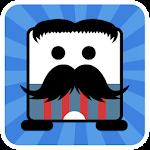 Mr Mustache Jump Icon