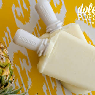 Dole Whip Popsicles.