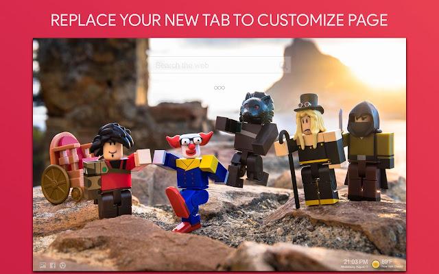 Roblox And Minecraft Wallpaper HD New Tab