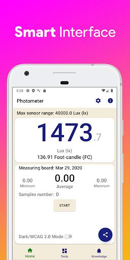 🌞 Lux Light Meter & Tools screenshot 3
