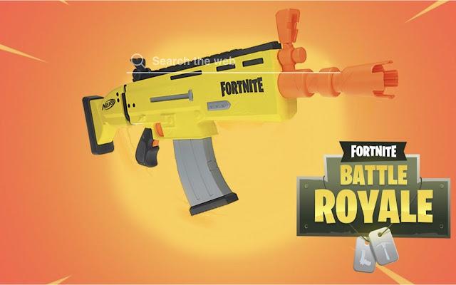 Fortnite Nerf Guns Hd Wallpapers Game Theme