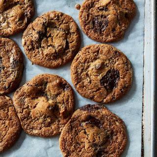 Date, Halvah, and Chocolate Chunk Cookies Recipe