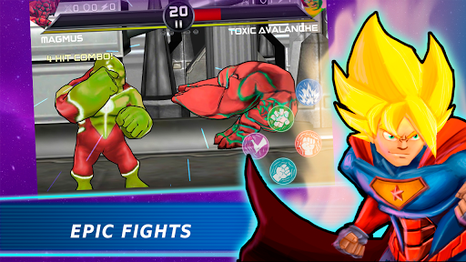 Superheroes Vs Villains 3 - Free Fighting Game  screenshots 13