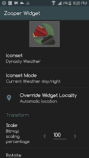 Zai - Weather Sets for Zooper- screenshot thumbnail