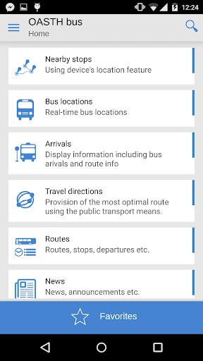 OASTH Bus 1.0.38 screenshots 1
