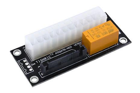 OEM Relé for tilkobling og start av strømforsyning nr. 2, SATA strømtilkobling