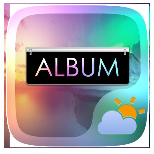 Album GO Weather Widget Theme