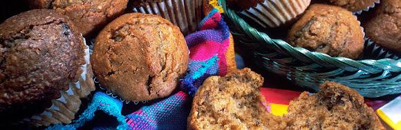 muffins, granola & oatmeal