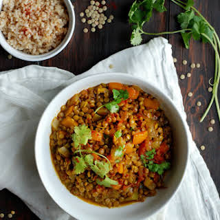 Jamaican Curried Lentils.
