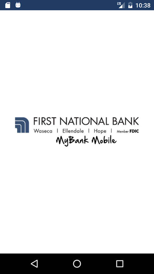 FNB Waseca MyBank Mobile- screenshot