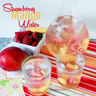 Strawberry Mango Water–Skin, Cholesterol, and Eye Health