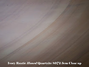 Photo: Ivory Rustic Honed Lot 8972 3cm Close Up