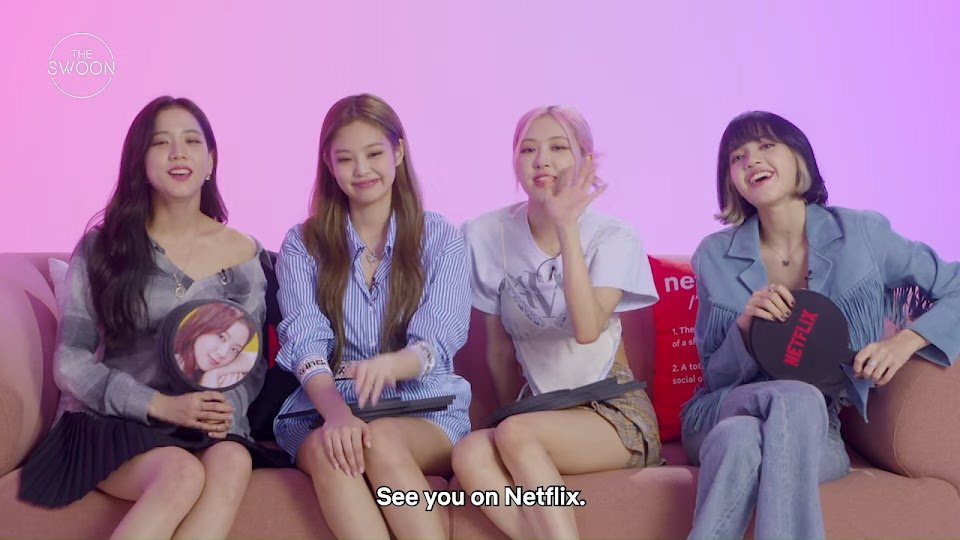 BLACKPINK tells us what they really think of each other _ Who, Me_ [ENG SUB] 7-25 screenshot
