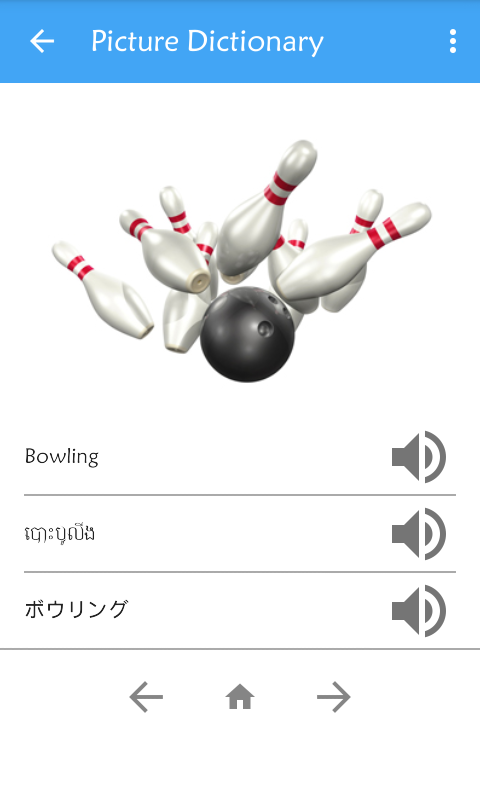 Picture dictionary kh en ja android apps on google play for Decoration quille de bowling