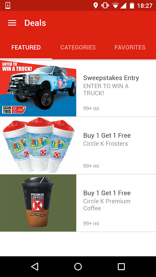 Circle K Midwest Rewards- screenshot