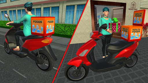 My Home Bakery Food Delivery Games modavailable screenshots 4