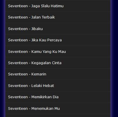 free download lagu seventeen kemarin mp3