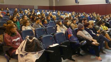 Photo: Atención a la charla de Pedro Ortuño sobre niños con Altas Capacidades y su problemática