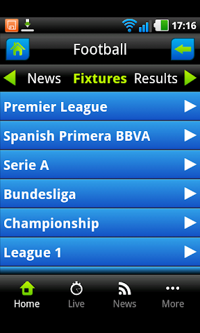 android Live Sports Tv Screenshot 1
