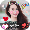 Cat Face - Photo Editor, Collage Maker & 3D Tattoo icon