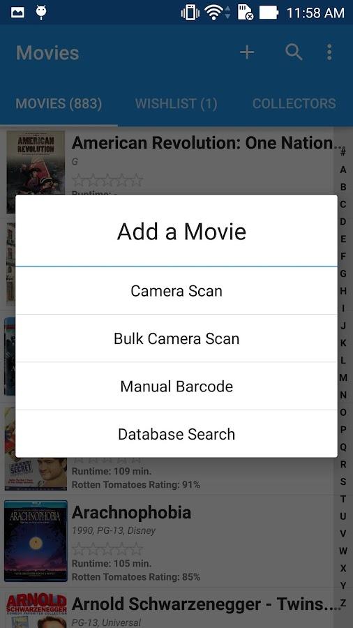 Movie Manager & Collector- screenshot
