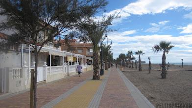 Photo: Nu viker vi av hemmåt på Strandpromenaden
