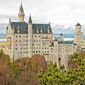Neuschwanstein Castle, Germany by Karen Clemente - Landscapes Travel