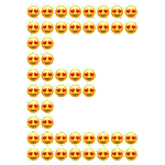 ? Emoji Letter Maker Icon