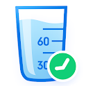 WaterBy: Water Drink Tracker Reminder & Alarm icon