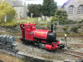 Photo: 017 This version of Skarloey has been subtly improved and has had his face surgically removed by John Spratley .