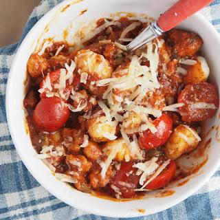Chorizo and Tomato Gnocchi