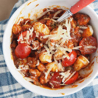 Chorizo and Tomato Gnocchi.