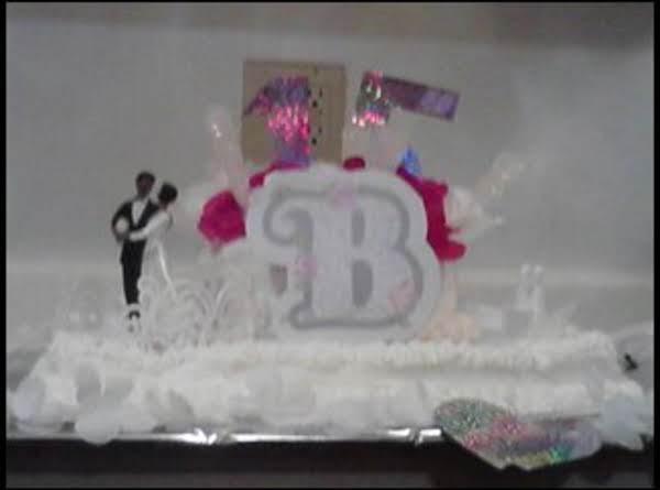 15th Wedding Anniversary Cake! Recipe