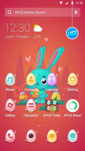 APUS Launcher theme Easter