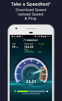 Speedtest.net APK screenshot thumbnail 1