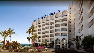 El Hotel Indalo fue el primero que se construyó en la costa mojaquera.